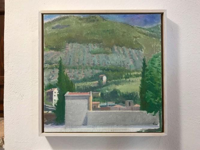 study-for-'Cimitero-I',-oc,-40x40cm,-2014