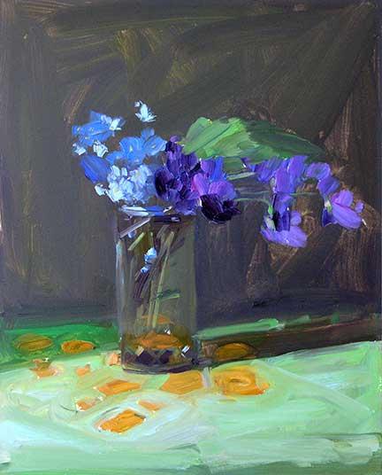 Amy Brnger, <em> Violets</em>