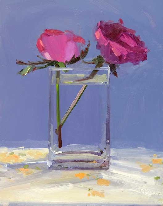 Amy Brnger, <em> Two Roses</em> april14x11