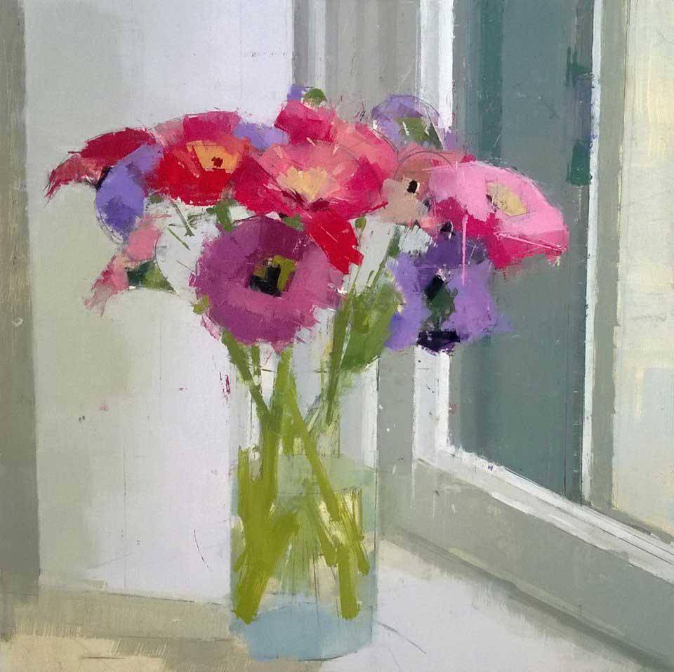 Lisa Breslow, <em> Pink,Red, Purple</em>