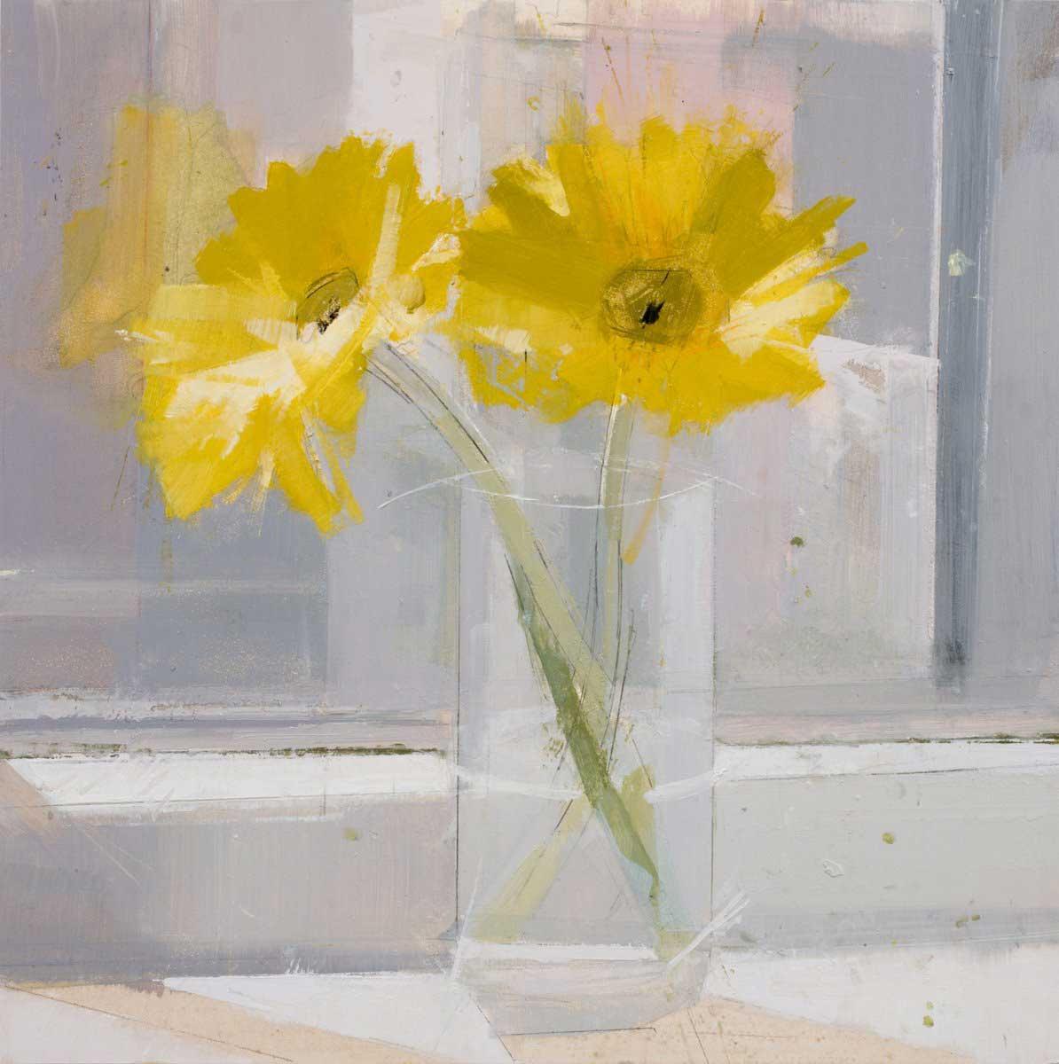 Lisa Breslow, <em>Yellow Gerber Daisy</em>