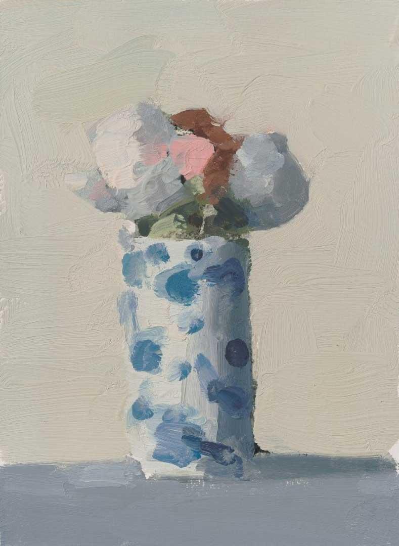 Stanley Bielen, <em>White and pink</em> 9/1-8 x6 5/8