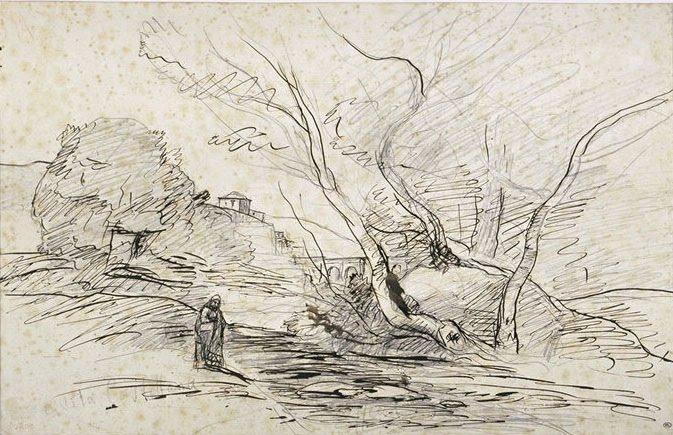 Corot-sketch
