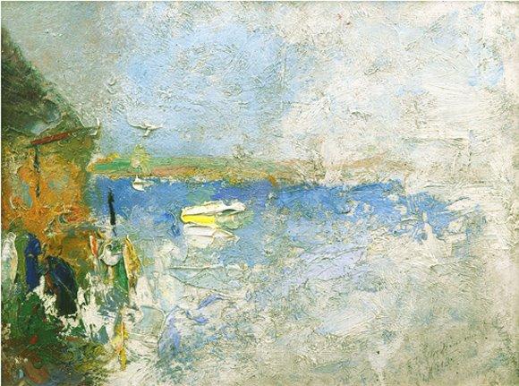 O'Neil's Wharf, 1913, 12 x 16 in.