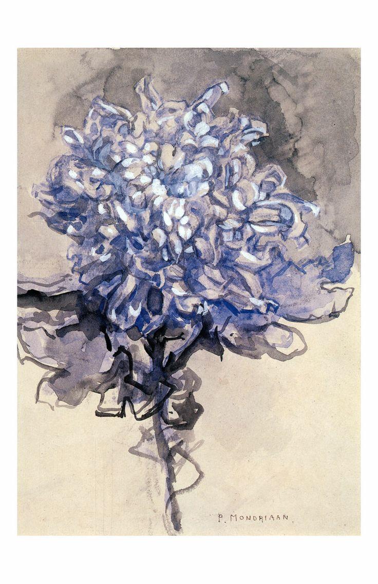 Piet Mondrian Chrysanthemum