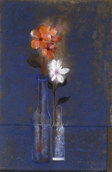 Winter Bouquet, 1973Tempera on paper. 34.3 x 22.5cm