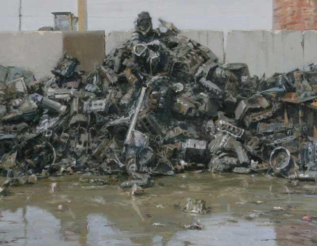 Michael Kareken Scrap Engines - detail