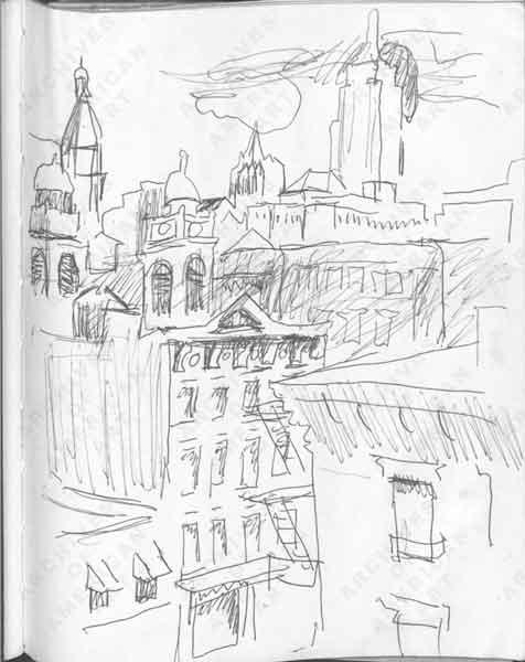 Sketchbooks Of Fairfield Porter Online