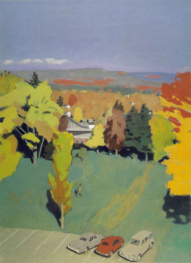 Fairfield Porter Mystery That Is Essential To Reality