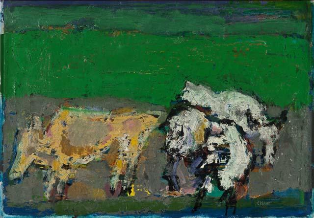 Bernard Chaet, Cows