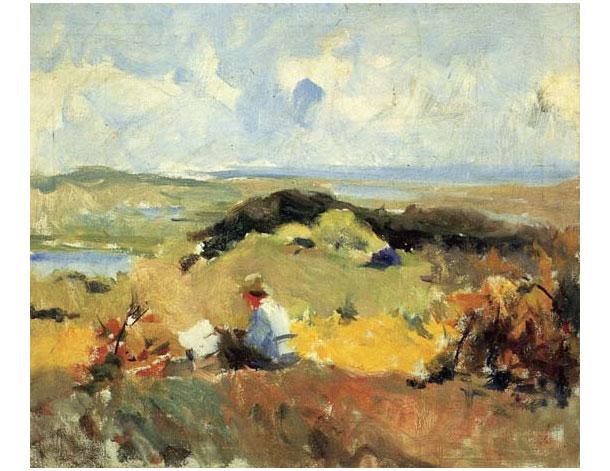 "Charles Hawthorne ""Artist in Plein Air"" 1910"