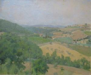 landscape, 60's