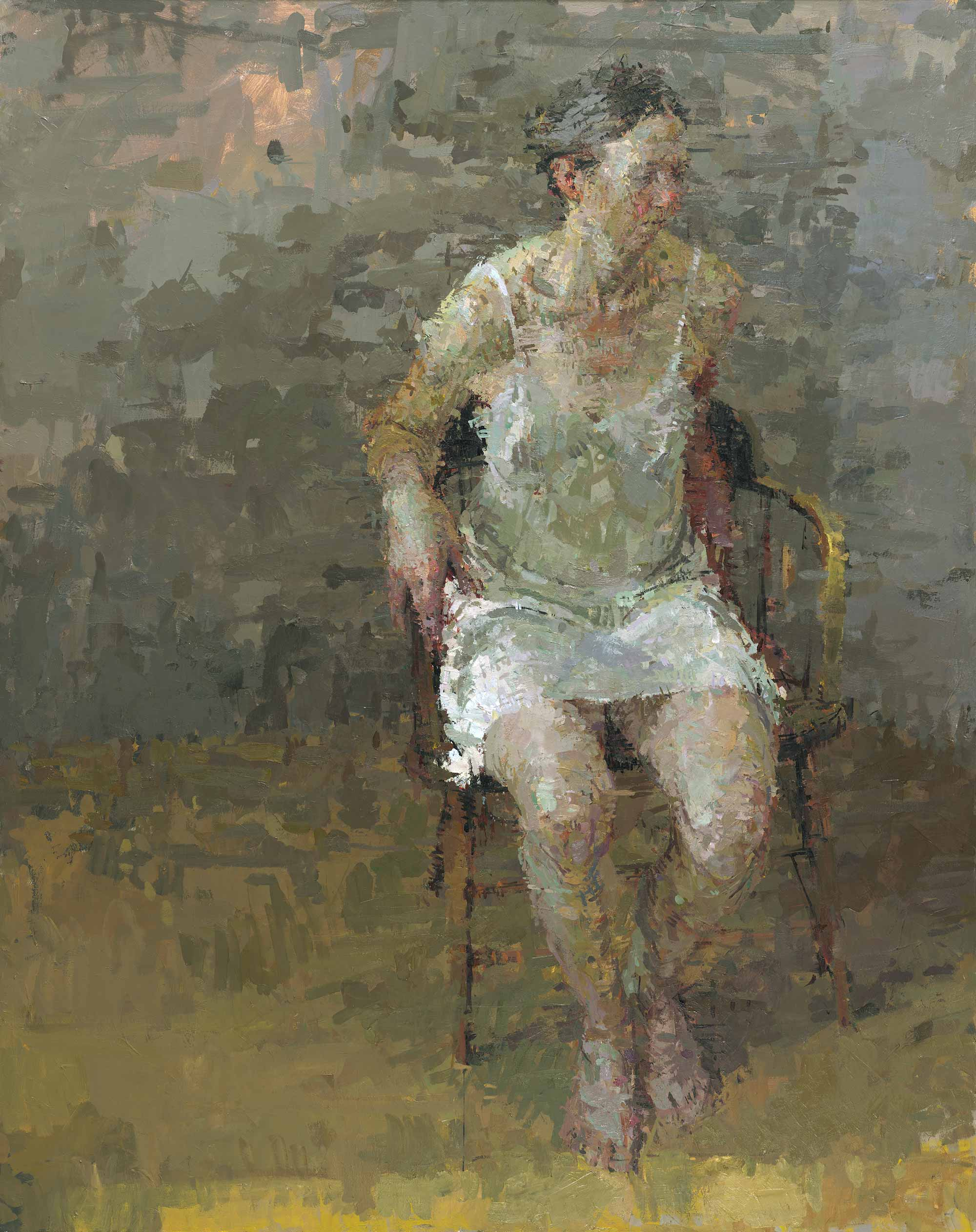 Interview with ann gale for Contemporary oil paintings