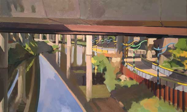 Under the Zakim Bridge (2014)