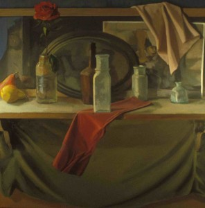 Still Life 44 x 44, oil on canvas 2002