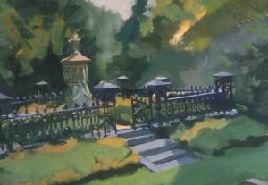 Sedge Path Mount Auburn,13x20 2005