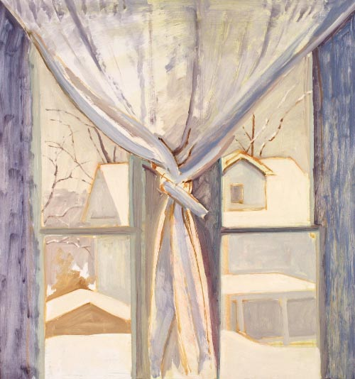 Double Paint Windows : Conversation with lois dodd