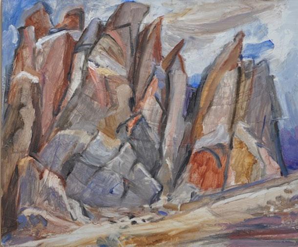 Slanted Rockpile