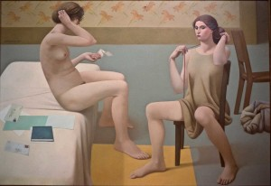 The Day Lily Room, 1987, 48 X 70 in.