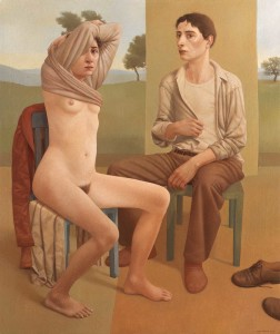 """""""The Most Delicate of Times"""", 2006, Oil on Linen, 47 1/4 x 39 1/4 in."""