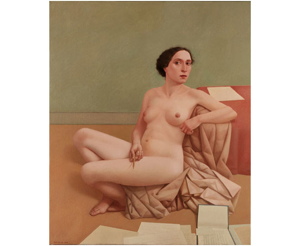 Prelude, 2008, 47 1/4 X 39 1/4 in. oil on linen