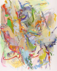 Restraint, 2014 60 x 48 Oil