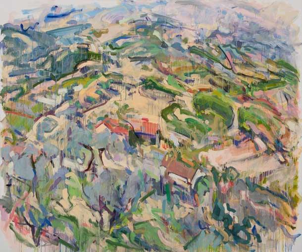 Umbrian Hills, 2007 60 x 72 Oil