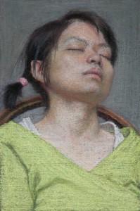 Mei-Chiao Resting 5 3/4 x 3 7/8 in
