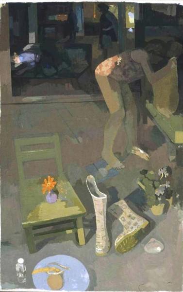 Labor Day, 72x45 o/c 2006