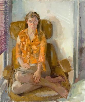 Willow, 40 x 48 in. oil/linen