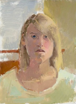 Lindsay, 12 x 16 in. oil/muslin on panel