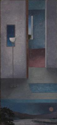 DUSK, oil on canvas 1983/84