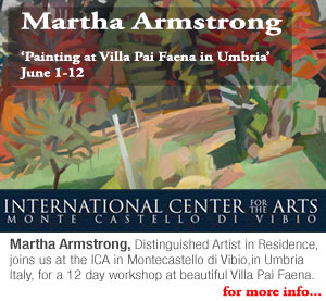 Martha Armstrong workshop at the ICA Monte Castello