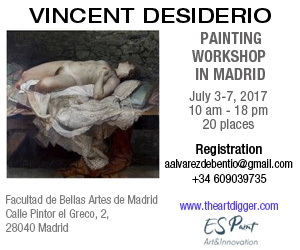 Vincent Desiderio Madrid Masterclass
