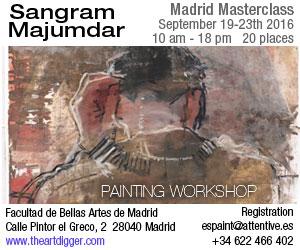 Sangram Majumdar Madrid Masterclass