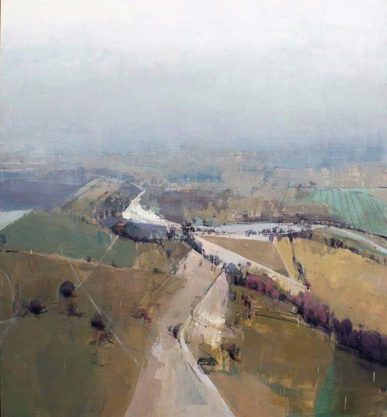 Deep, 2010, oil on canvas, 66 x 60