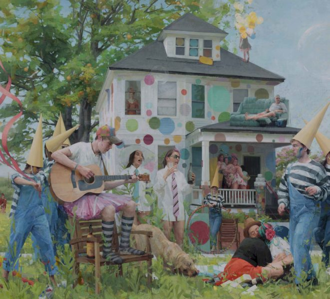 House Party, 2016 Oil on linen
