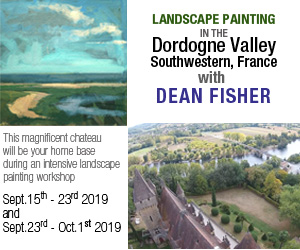 Painting in the Dordogne Valley in France with Dean Fisher