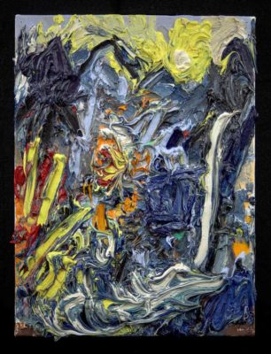"Telluride #1, 2015, oil/linen, 16x12"""
