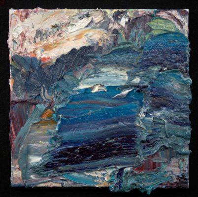 "Telluride #10 2015, oil/linen, 20x20"""